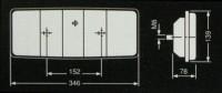Фонарь задний 0205