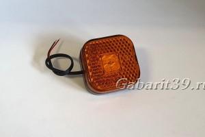 Фонарь габаритный ТАС 110-00 MAN желтый светодиодный