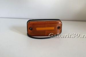 Фонарь габаритный ТАС 158-00 желтый светодиодный