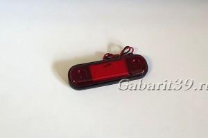 Фонарь габаритный ТАС 160-02 красный светодиодный