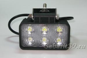 Фара LED 18SW / flood (прямоугольный корпус)