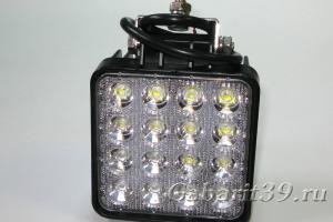 Фара LED 48W  (EPISTAR / квадратный корпус) FLOOD