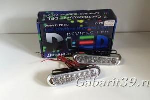 Дневные ходовые огни 12V DRL-28 DLED (к-кт 2 шт)