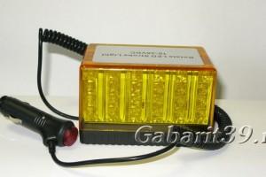 Маяк проблесковый LED 10-30V AT14292 Кирпич