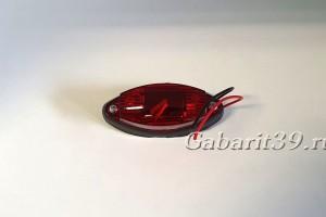 Фонарь габаритный ГФ2-02 ТехАвтоСвет красный