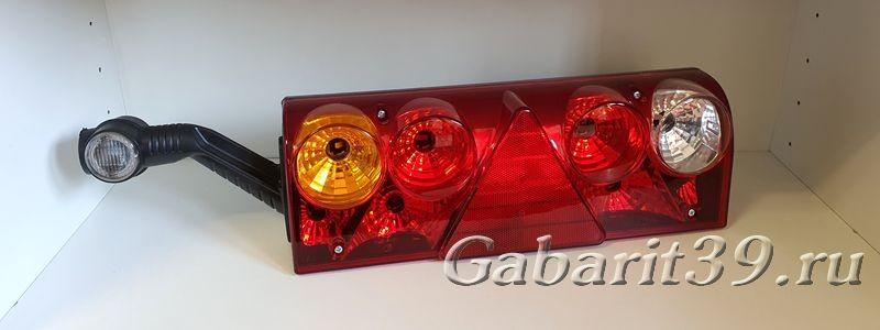 Фонарь задний SCHMIZ U0024-30 с LED габаритом ТАС