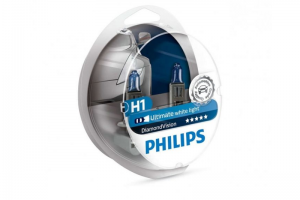 Автолампа 12V PHILIPS H1 55W DiamondVision