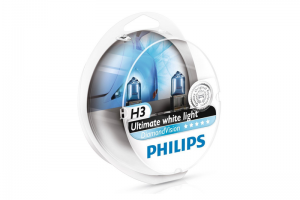 Автолампа 12V PHILIPS H3 55W DiamondVision