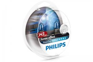 Автолампа 24V PHILIPS H3 70W MasterDuty BlueVision